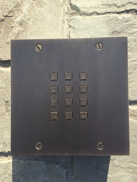 Fasttel door entry control: access keypad