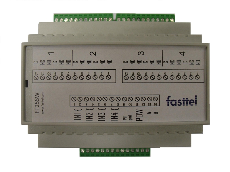 Fasttel access keypad FT25K silver: extension FT25KINT