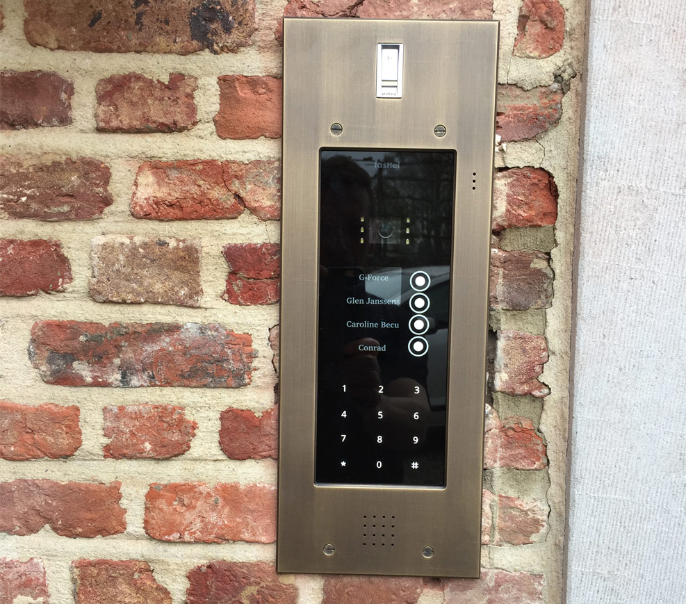 Fasttel Wizard Elite, de video intercom die spitstechnologie combineert met een top design