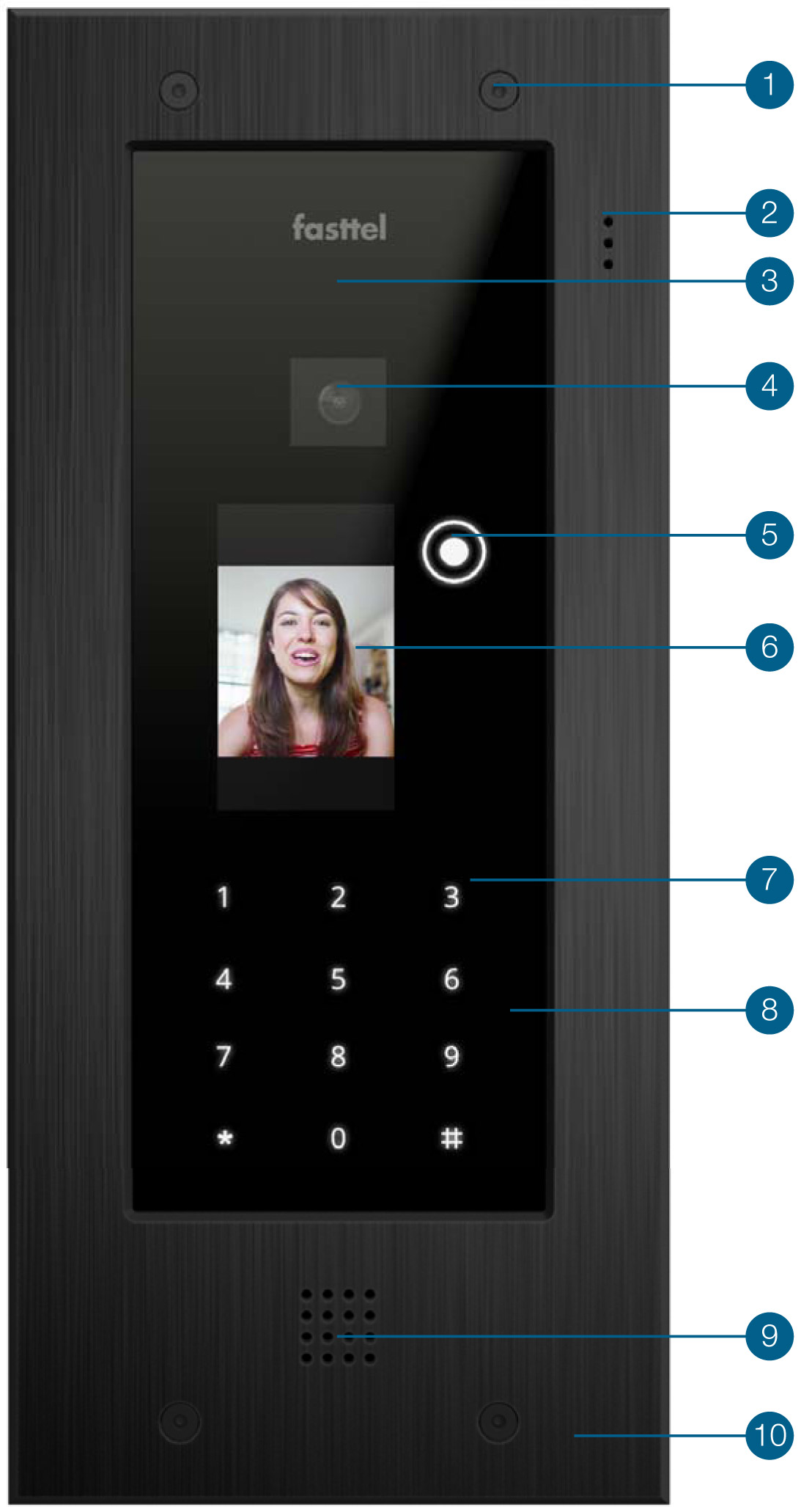 Wizard Elite video intercom Specificaties