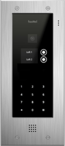 Fasttel Wizard Elite ft2502KIP, de ultieme video intercom. Spitstechnologie in topdesign