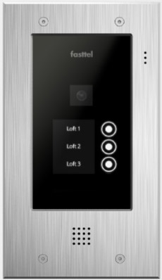 Fasttel Wizard Elite ft2503IP, de ultieme video intercom. Spitstechnologie in topdesign