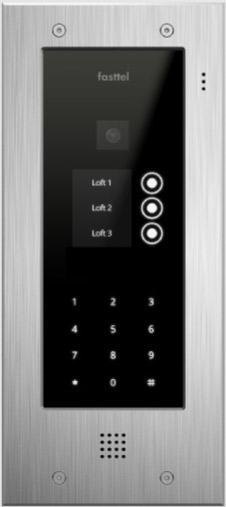 Fasttel Wizard Elite ft2503KIP, de ultieme video intercom. Spitstechnologie in topdesign