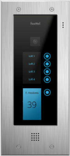 Fasttel Wizard Elite ft2505IP, de ultieme video intercom. Spitstechnologie in topdesign