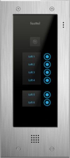 Fasttel Wizard Elite ft2506IP, de ultieme video intercom. Spitstechnologie in topdesign