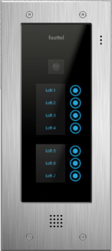 Fasttel Wizard Elite ft2507IP, de ultieme video intercom. Spitstechnologie in topdesign