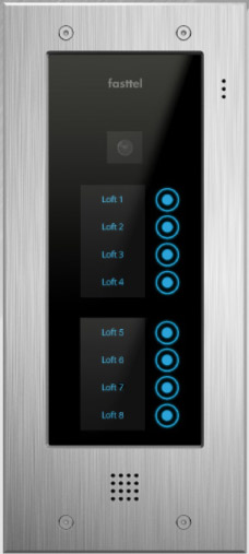 Fasttel Wizard Elite ft2508IP, de ultieme video intercom. Spitstechnologie in topdesign