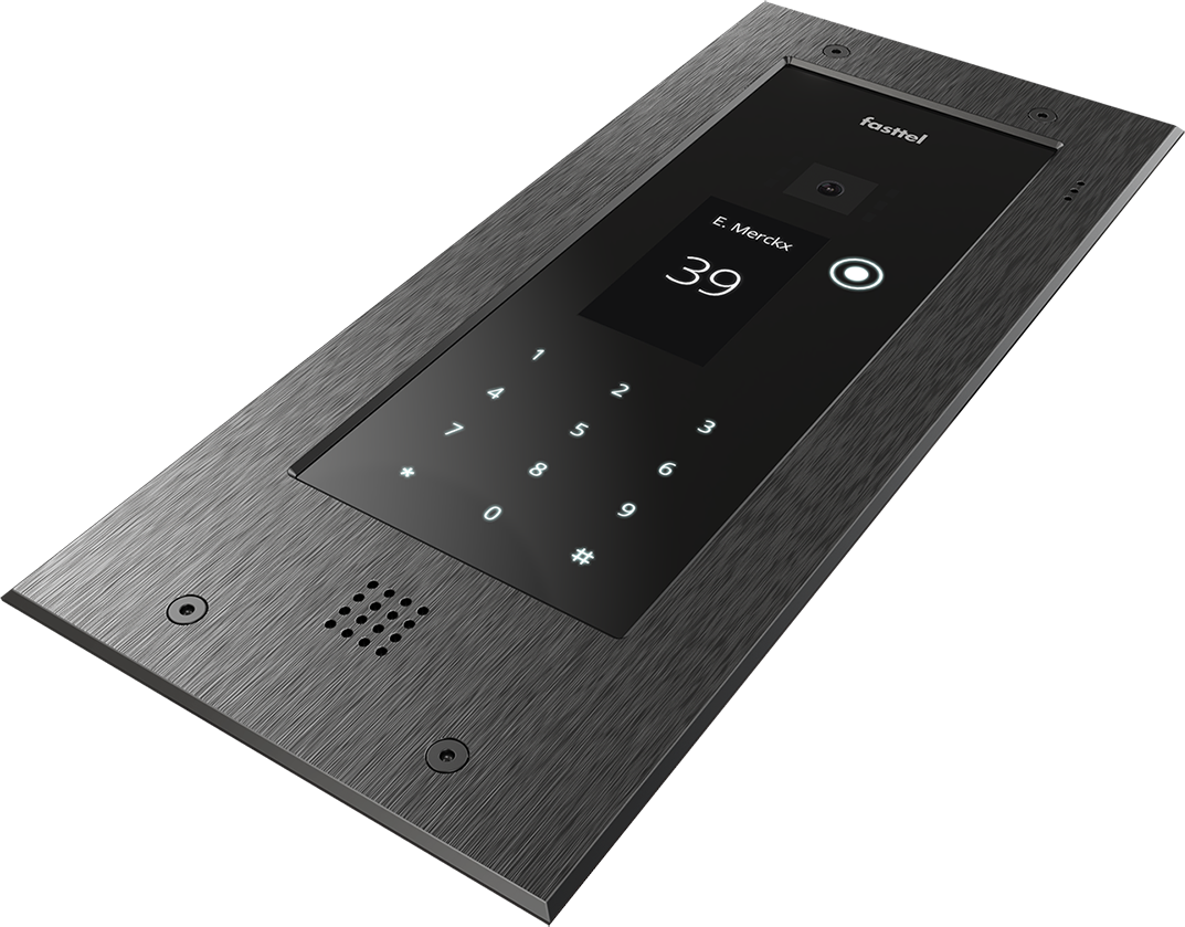 Fasttel Wizard Elite, de ultieme video intercom. Spitstechnologie in topdesign